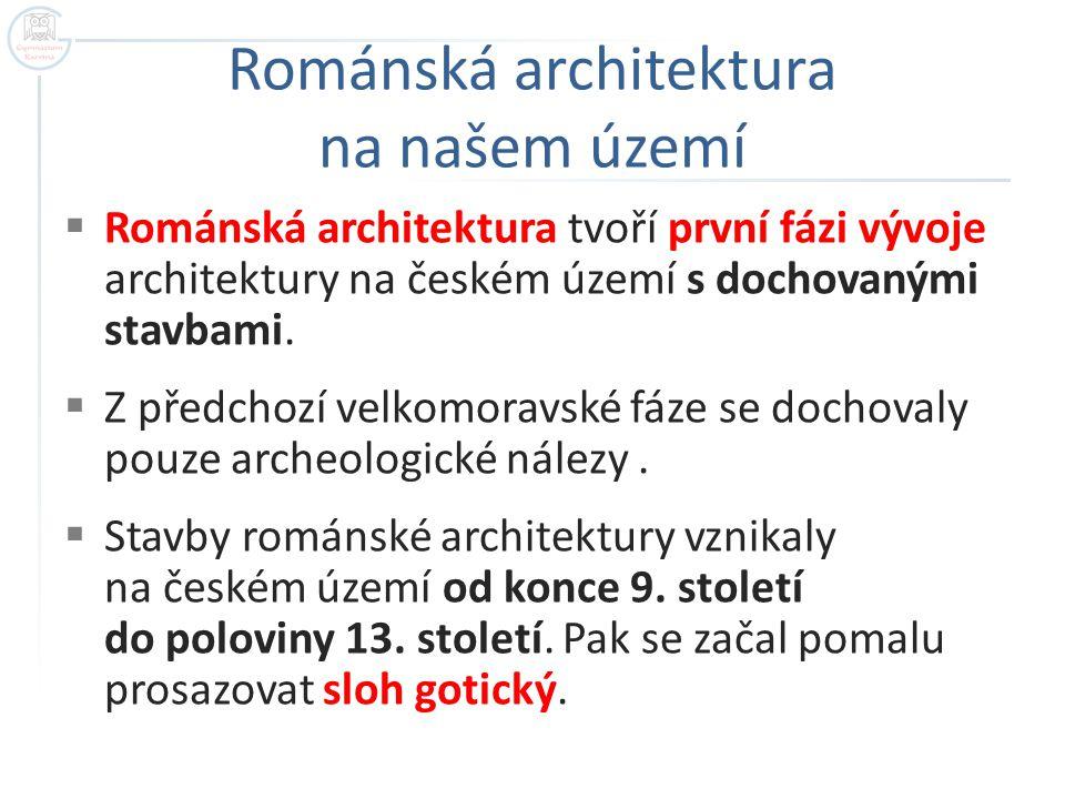 Románská architektura na našem území