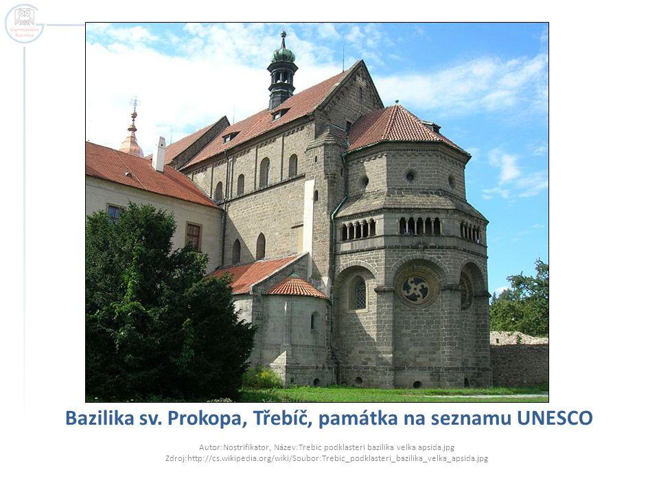 Bazilika sv. Prokopa, Třebíč, památka na seznamu UNESCO