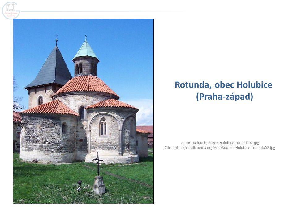 Rotunda, obec Holubice (Praha-západ)