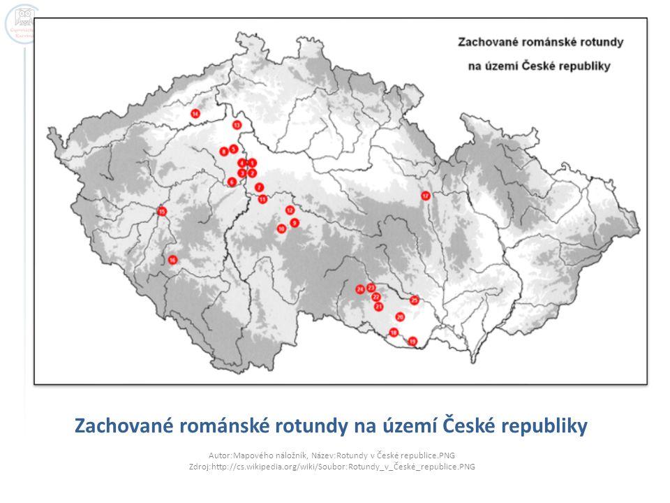 Zachované románské rotundy na území České republiky