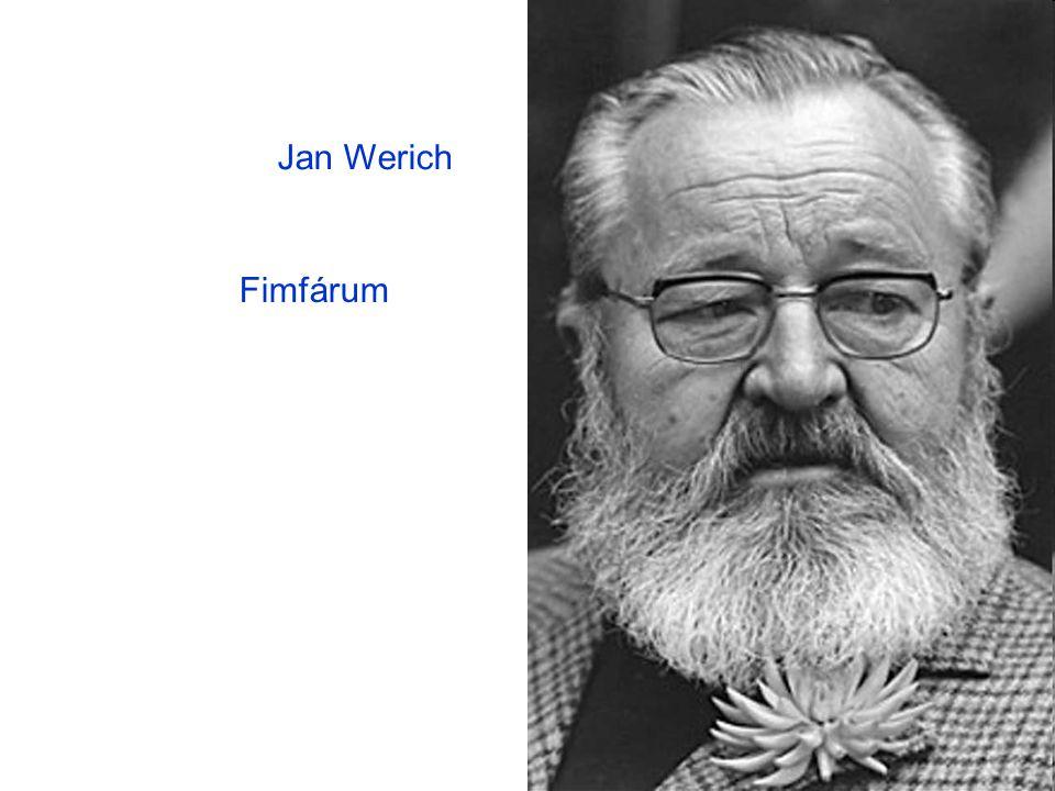 Jan Werich Fimfárum