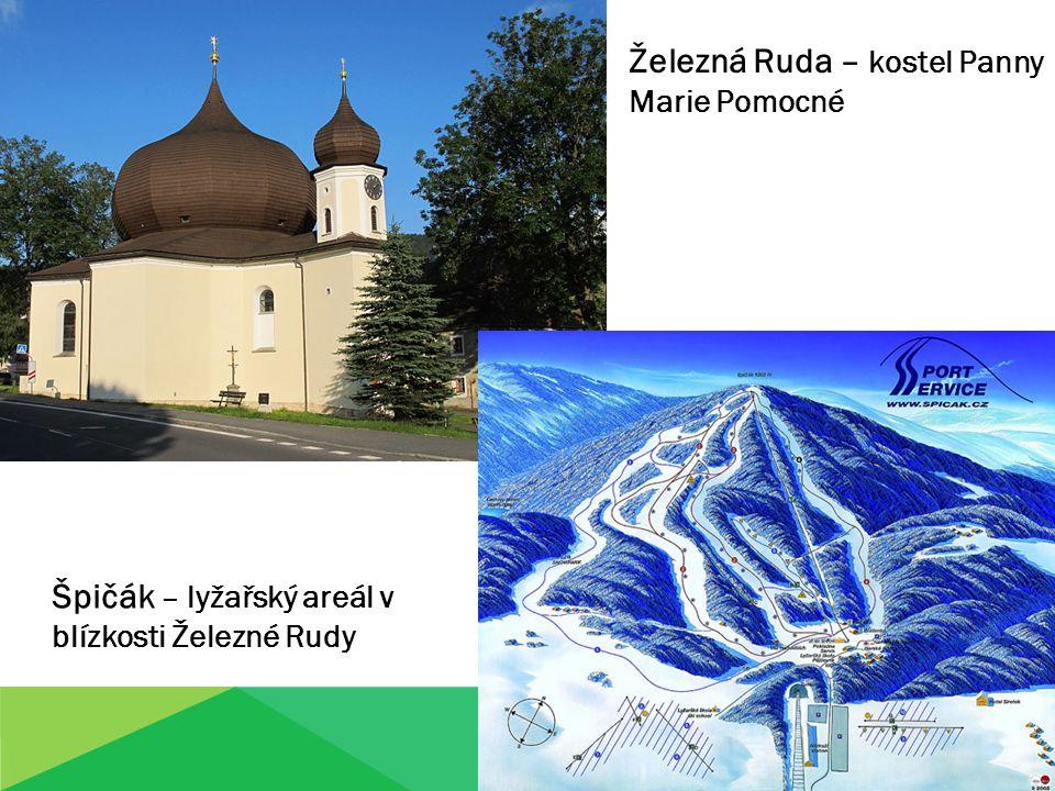 Železná Ruda – kostel Panny Marie Pomocné