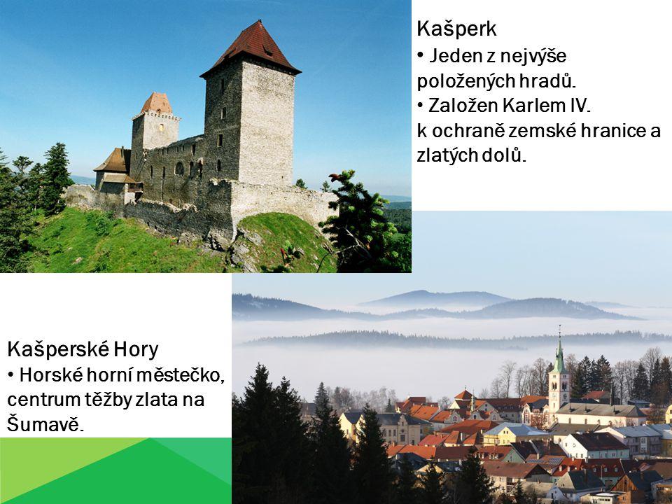 Jeden z nejvýše položených hradů.