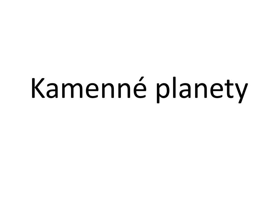 Kamenné planety