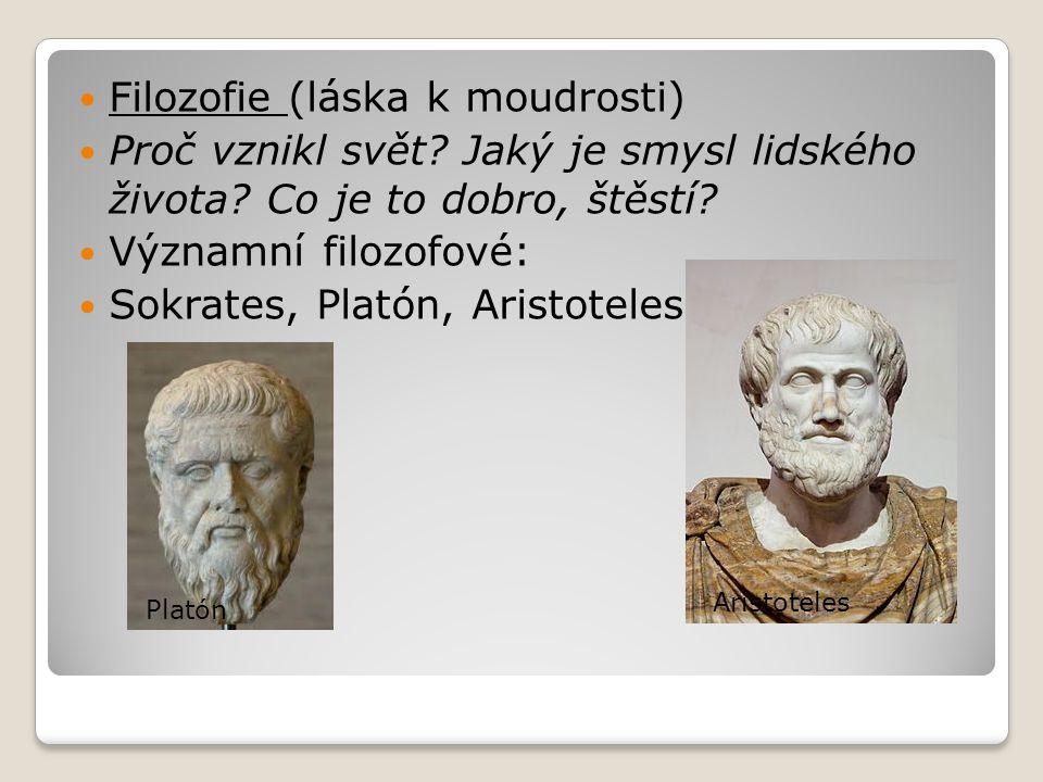 Filozofie (láska k moudrosti)