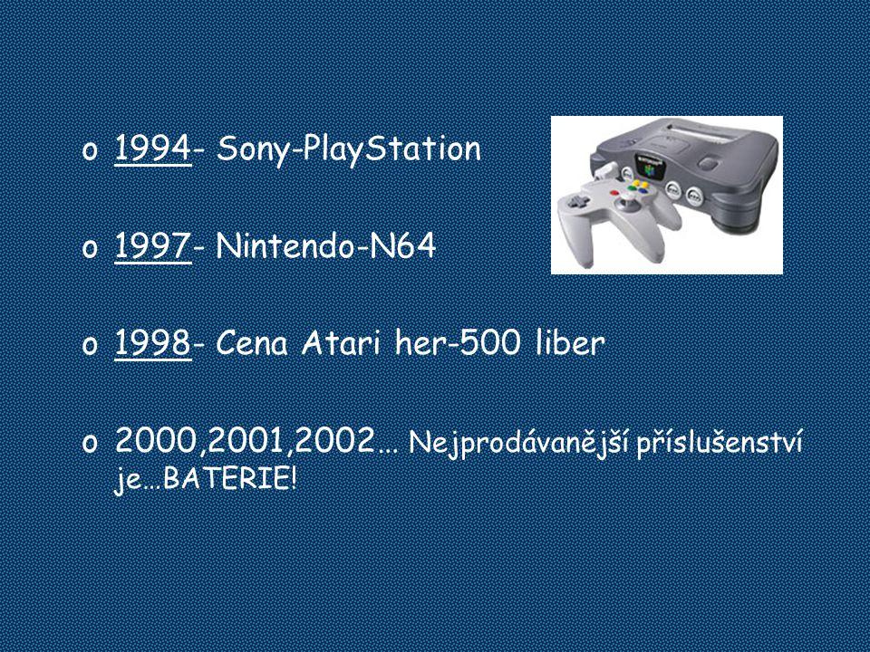 2000,2001,2002… Nejprodávanější příslušenství je…BATERIE!