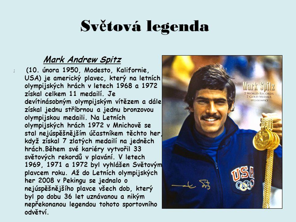 Světová legenda Mark Andrew Spitz.