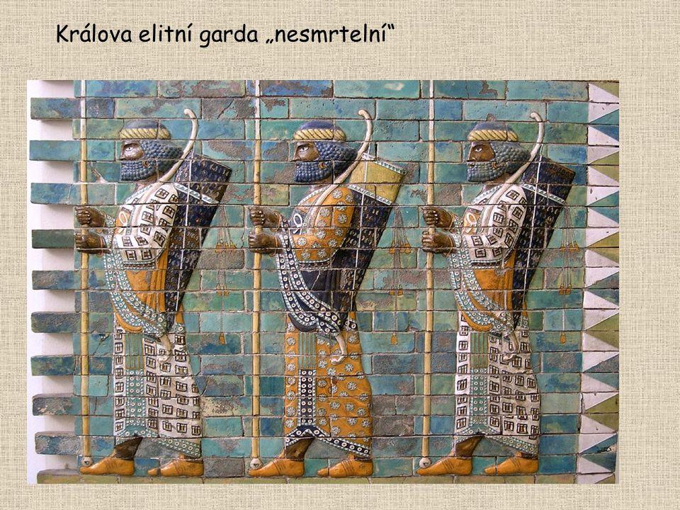 """Králova elitní garda """"nesmrtelní"""