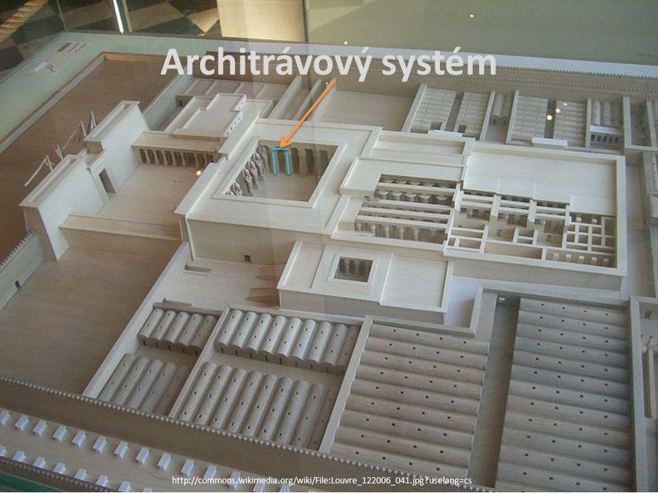Architrávový systém http://commons.wikimedia.org/wiki/File:Louvre_122006_041.jpg?uselang=cs