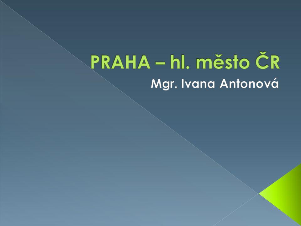 PRAHA – hl. město ČR Mgr. Ivana Antonová