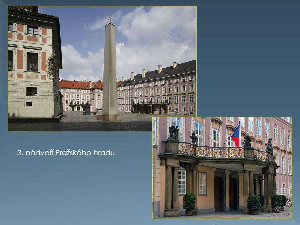 3. nádvoří Pražského hradu