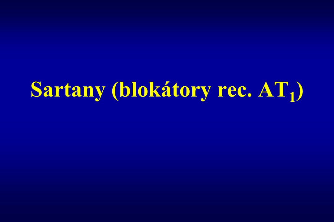 Sartany (blokátory rec. AT1)