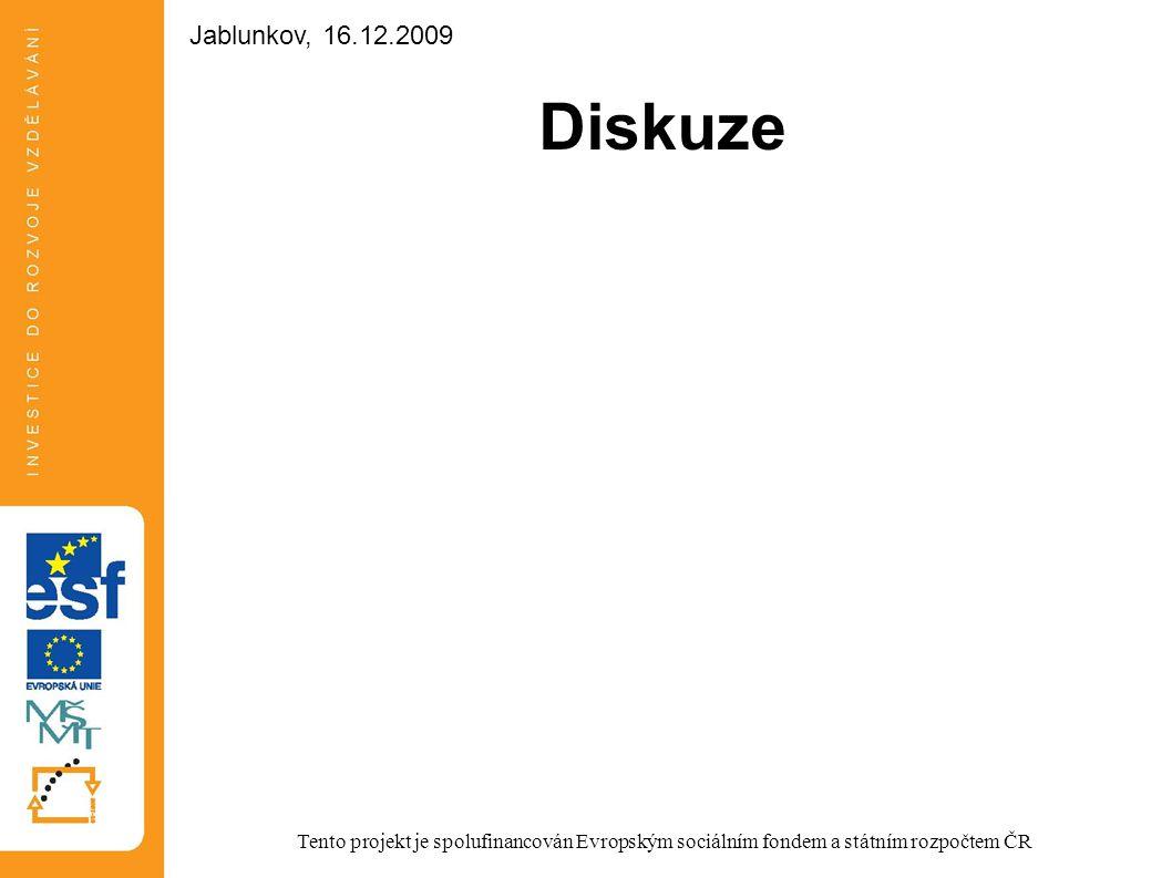 Diskuze Jablunkov, 16.12.2009 Jablunkov, 16.12.2009