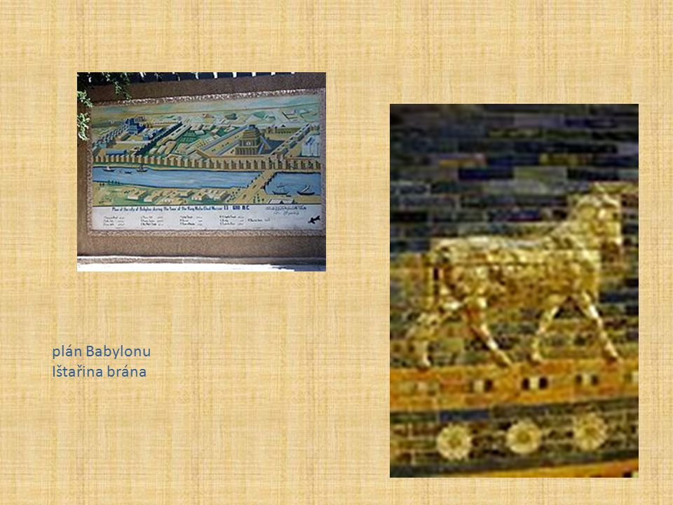 plán Babylonu Ištařina brána