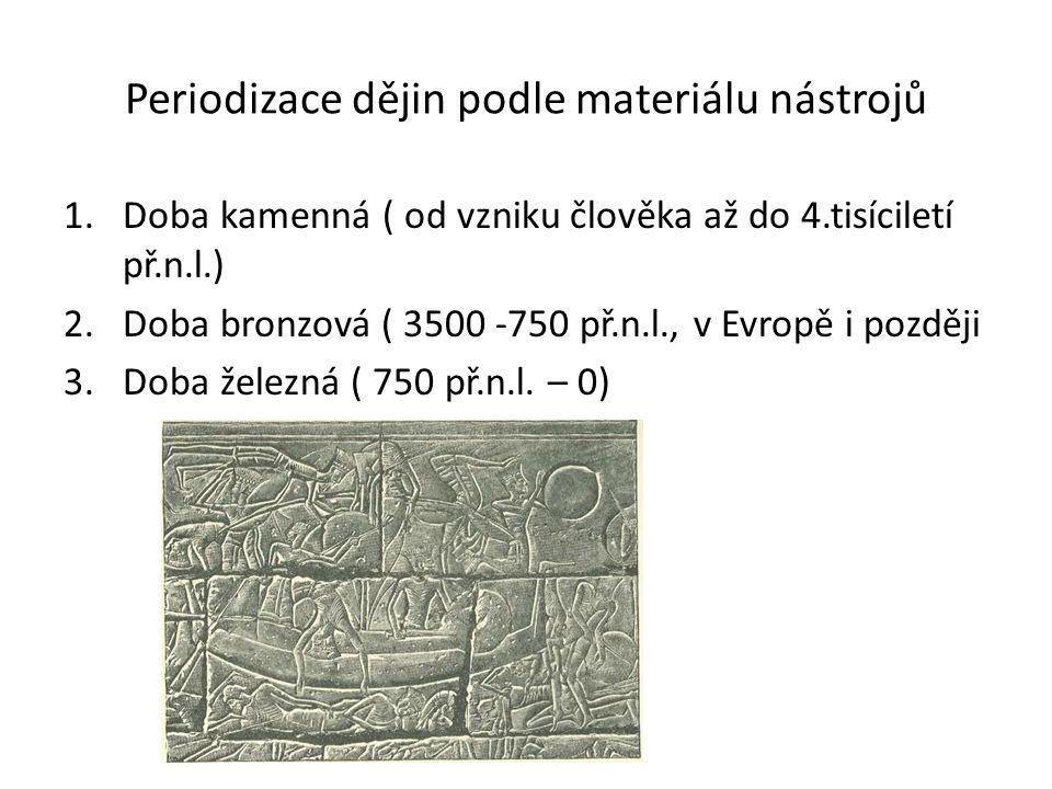 Periodizace dějin podle materiálu nástrojů