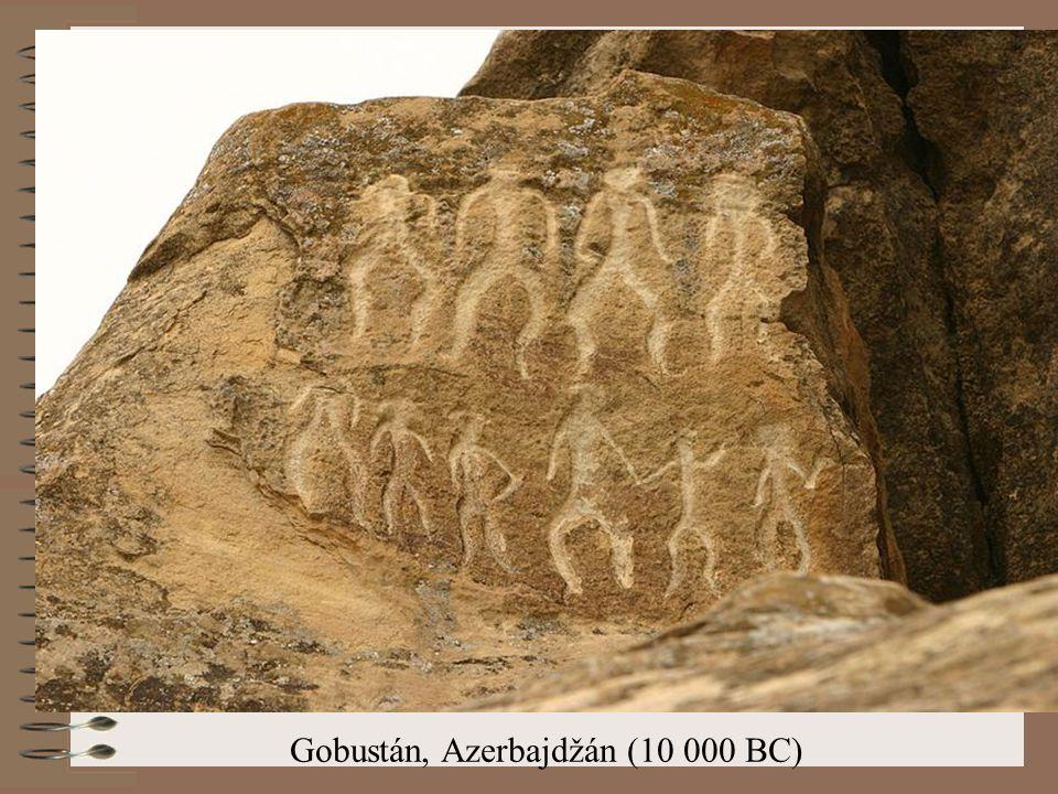 Gobustán, Azerbajdžán (10 000 BC)