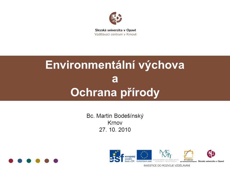 Environmentální výchova a