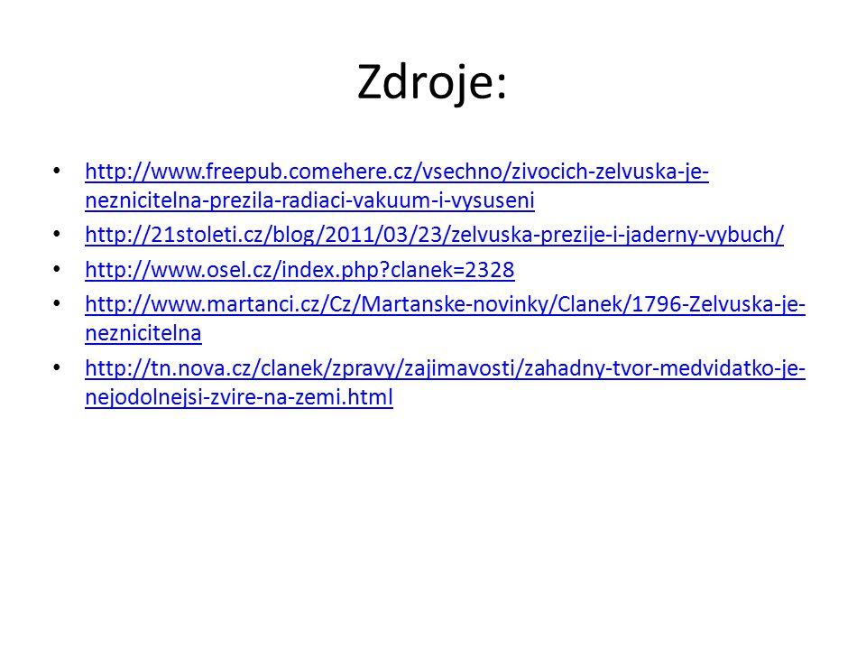 Zdroje: http://www.freepub.comehere.cz/vsechno/zivocich-zelvuska-je-neznicitelna-prezila-radiaci-vakuum-i-vysuseni.