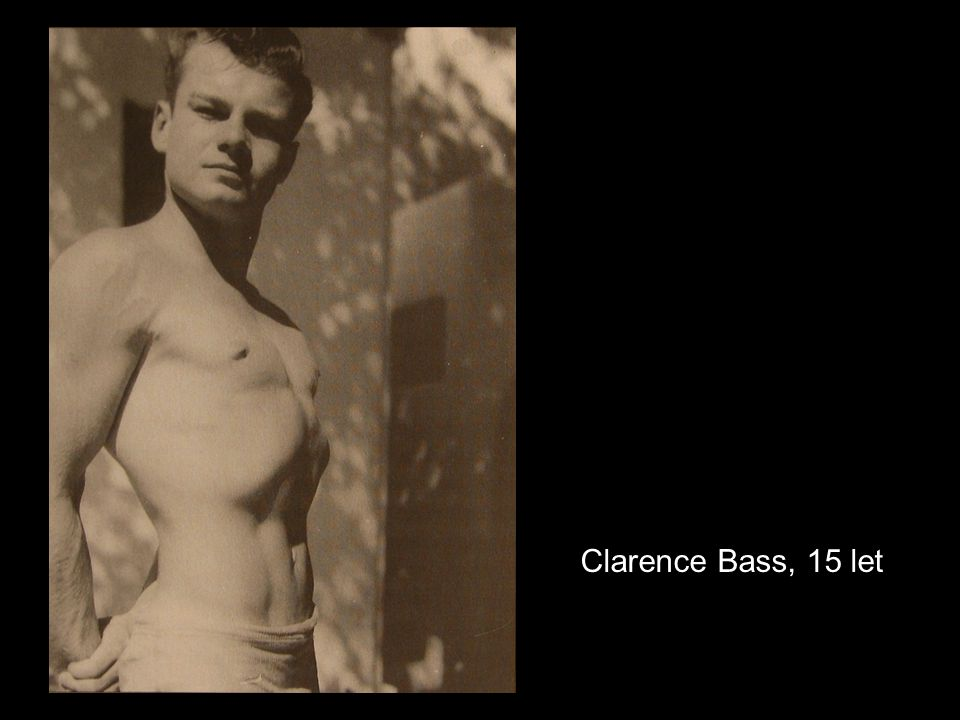 Clarence Bass, 15 let