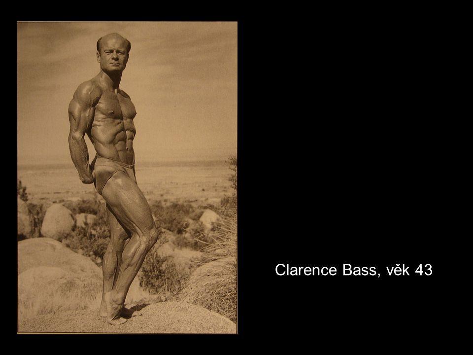 Clarence Bass, věk 43