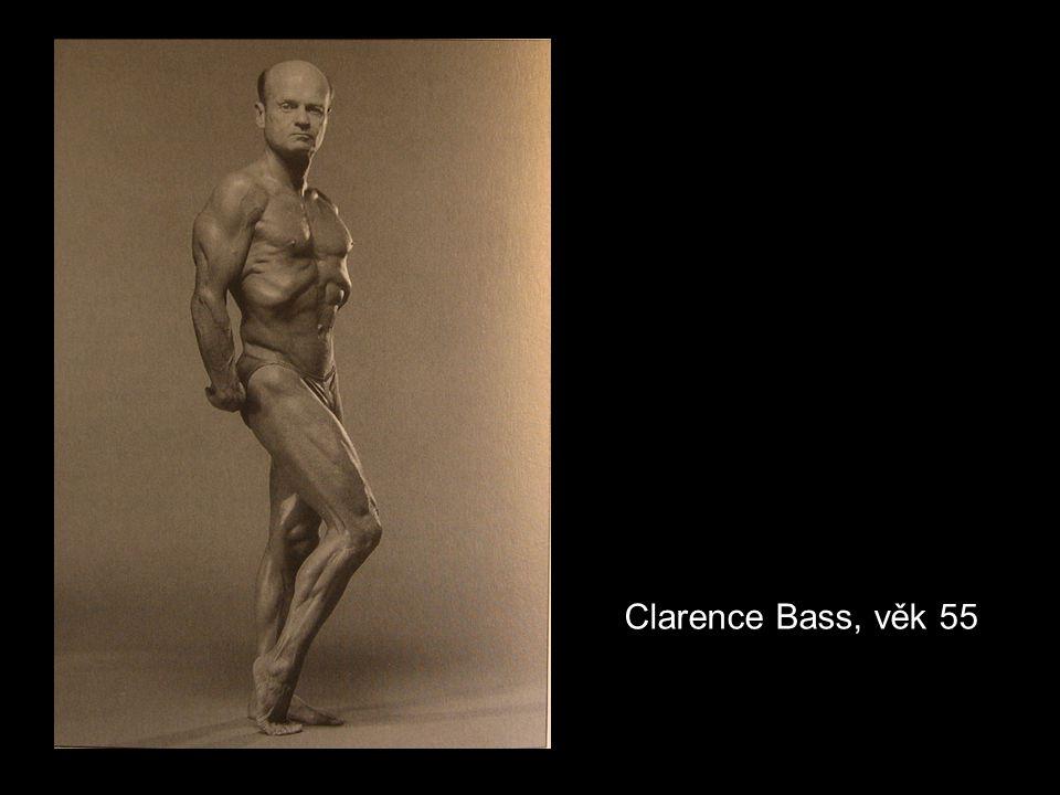 Clarence Bass, věk 55