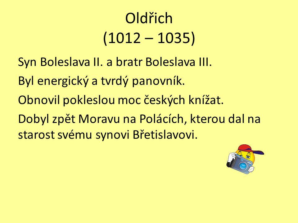 Oldřich (1012 – 1035)
