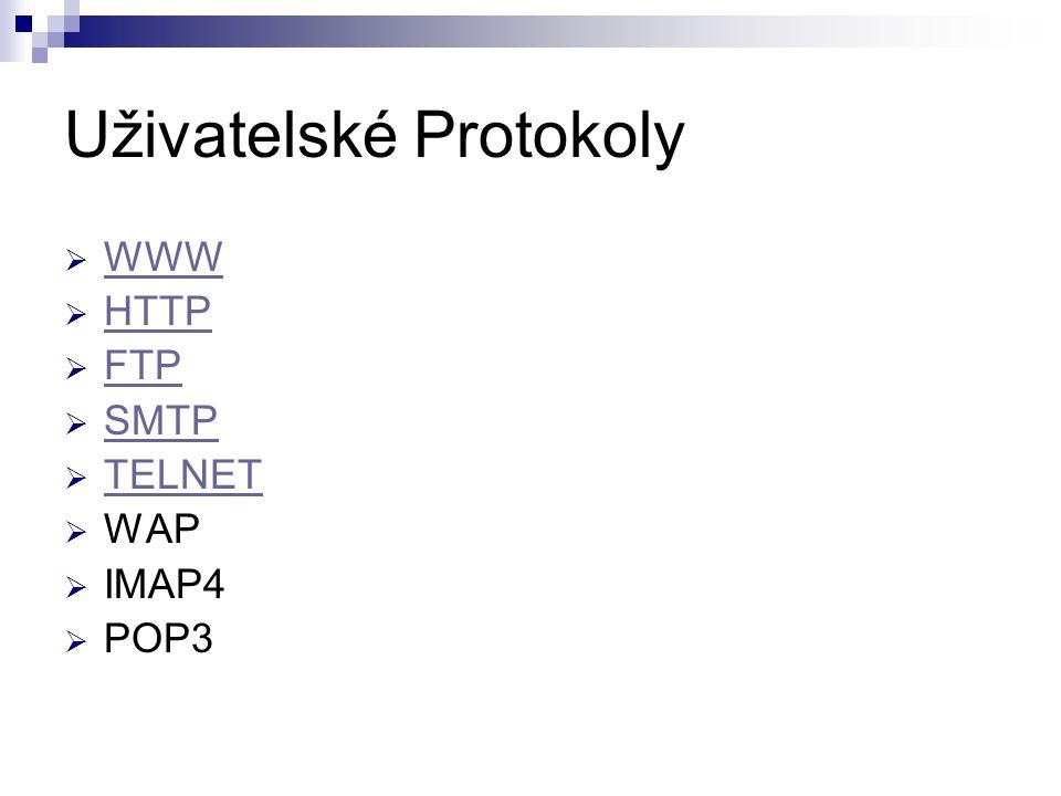 Uživatelské Protokoly