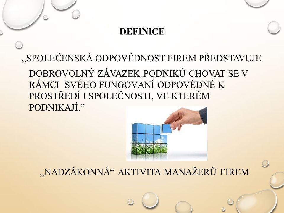 """""""NADZÁKONNÁ AKTIVITA MANAŽERŮ FIREM"""