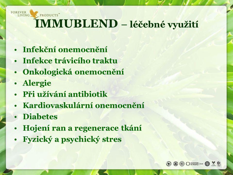 IMMUBLEND – léčebné využití