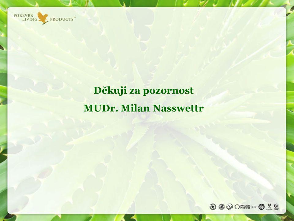 Děkuji za pozornost MUDr. Milan Nasswettr