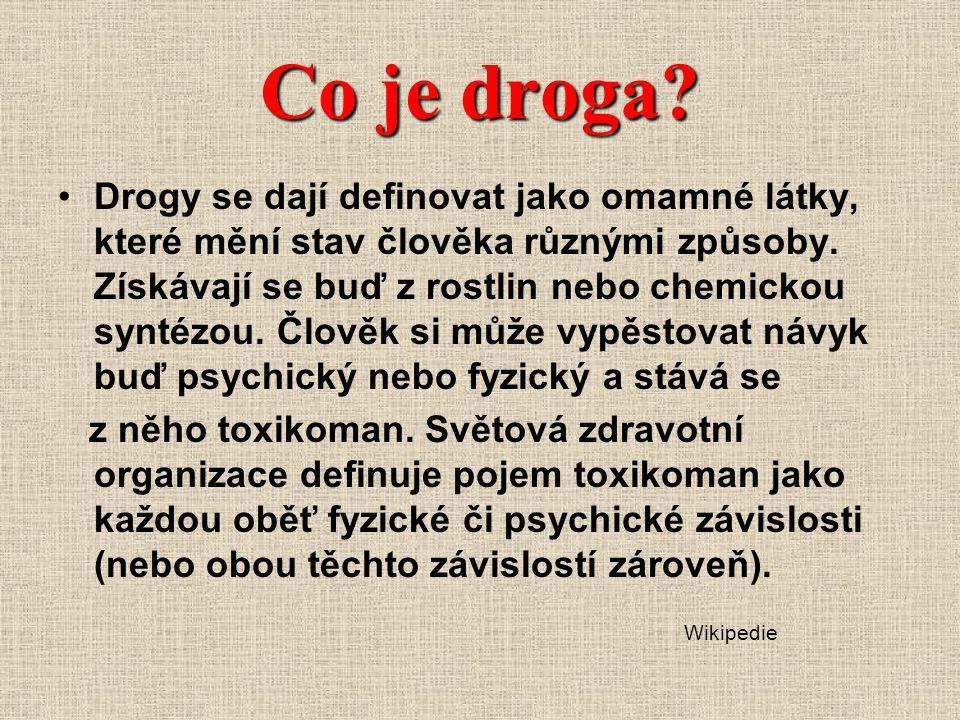 Co je droga