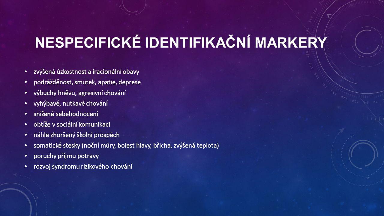 Nespecifické identifikační markery