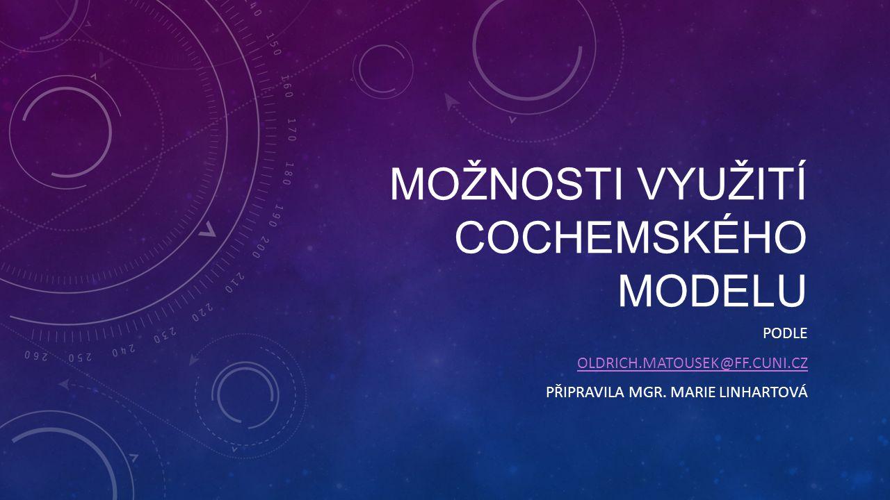 Možnosti využití Cochemského modelu