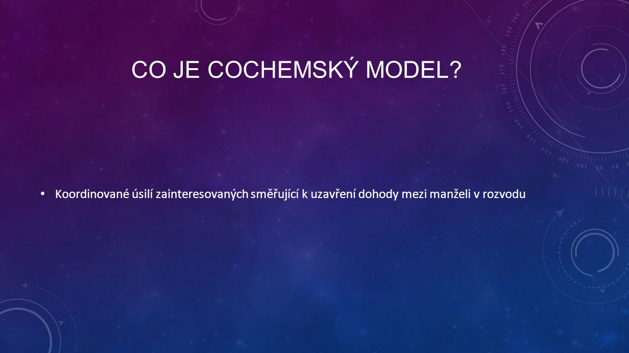 Co je Cochemský model.