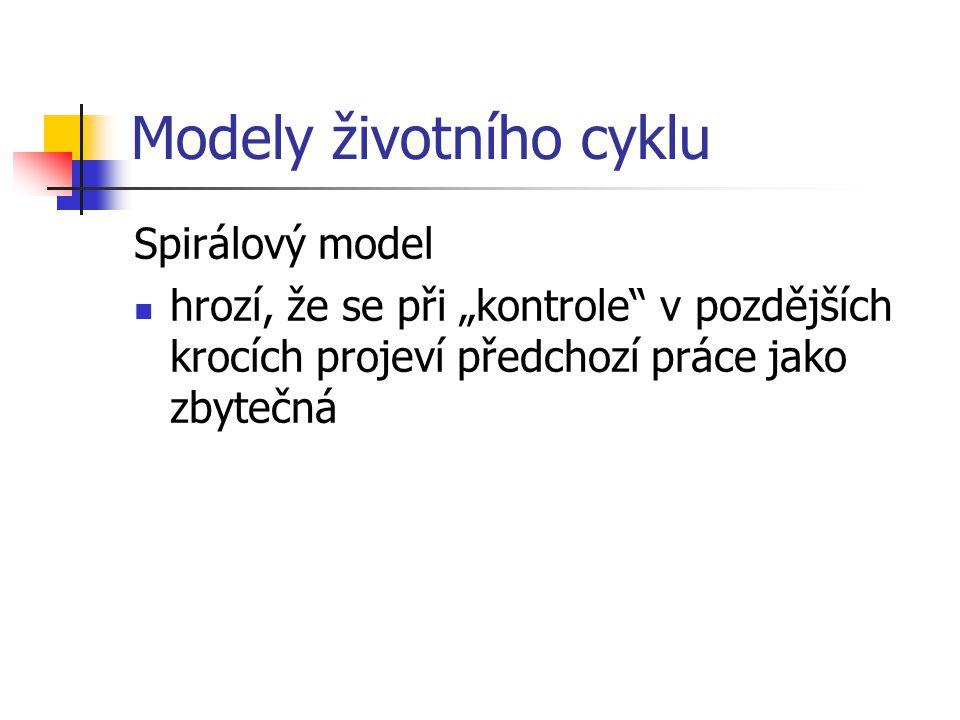 Modely životního cyklu