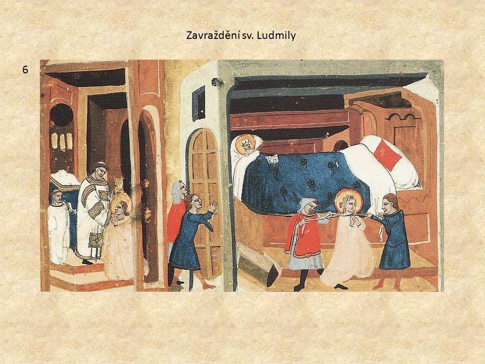 Zavraždění sv. Ludmily 6