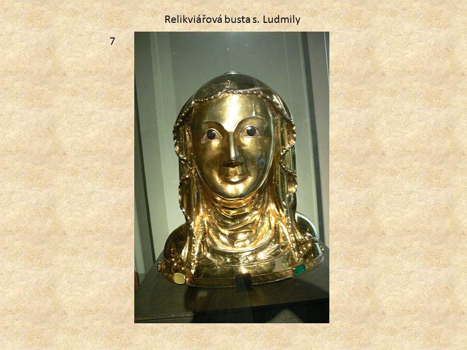Relikviářová busta s. Ludmily