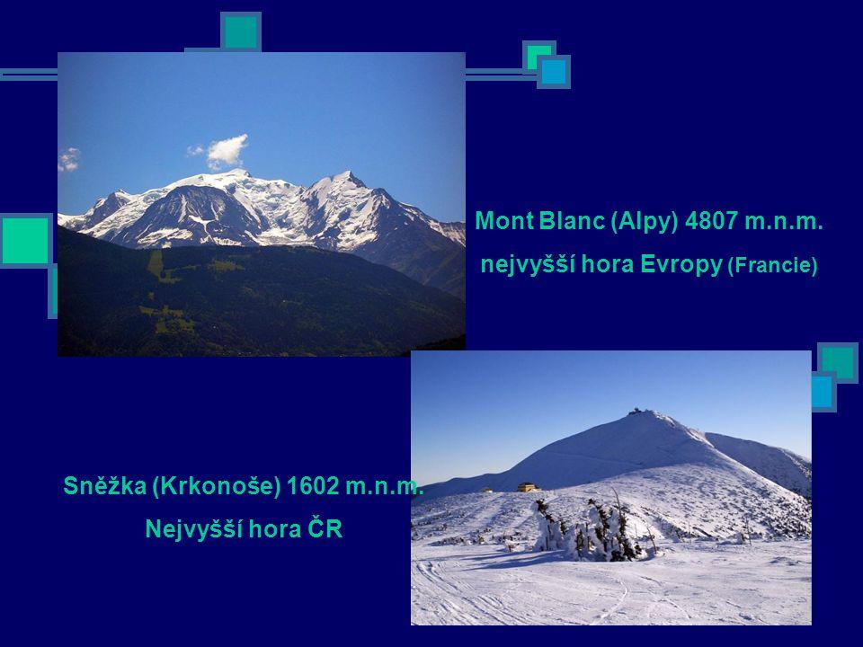 nejvyšší hora Evropy (Francie)