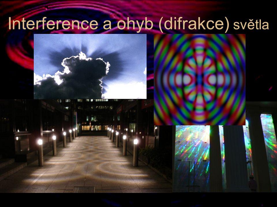Interference a ohyb (difrakce) světla