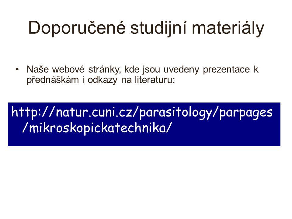Doporučené studijní materiály