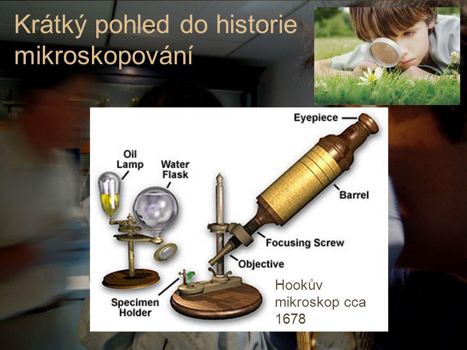 Krátký pohled do historie mikroskopování