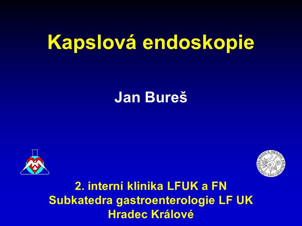 2. interní klinika LFUK a FN Subkatedra gastroenterologie LF UK