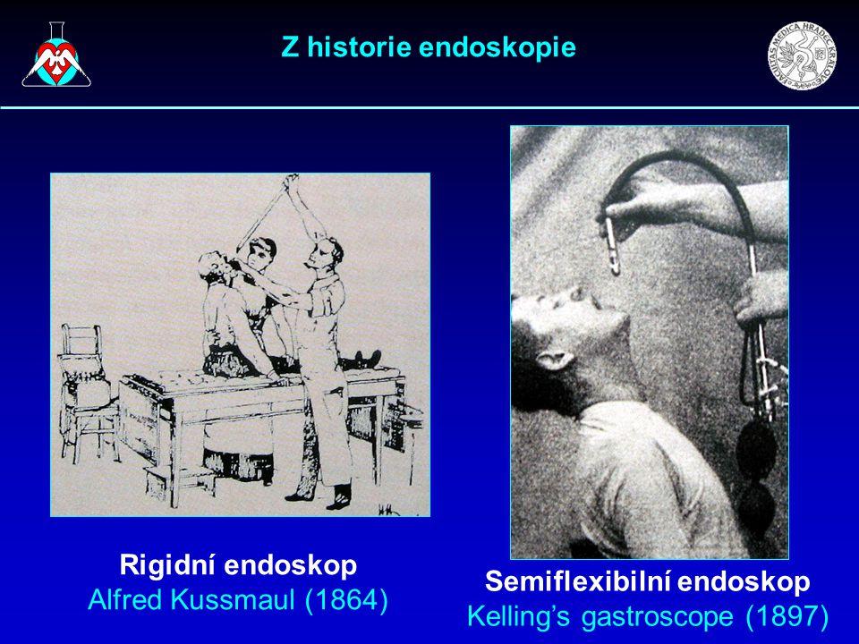 Semiflexibilní endoskop