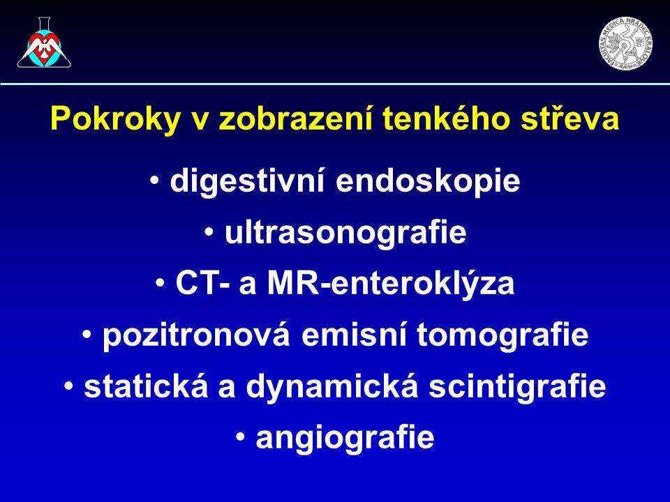 Pokroky v zobrazení tenkého střeva digestivní endoskopie