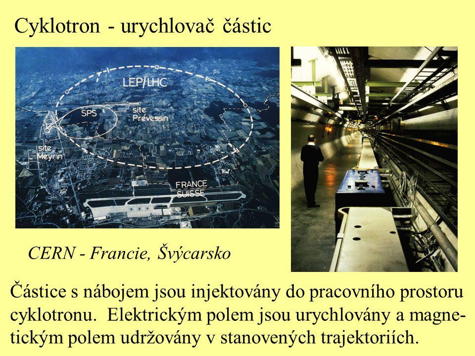Cyklotron - urychlovač částic
