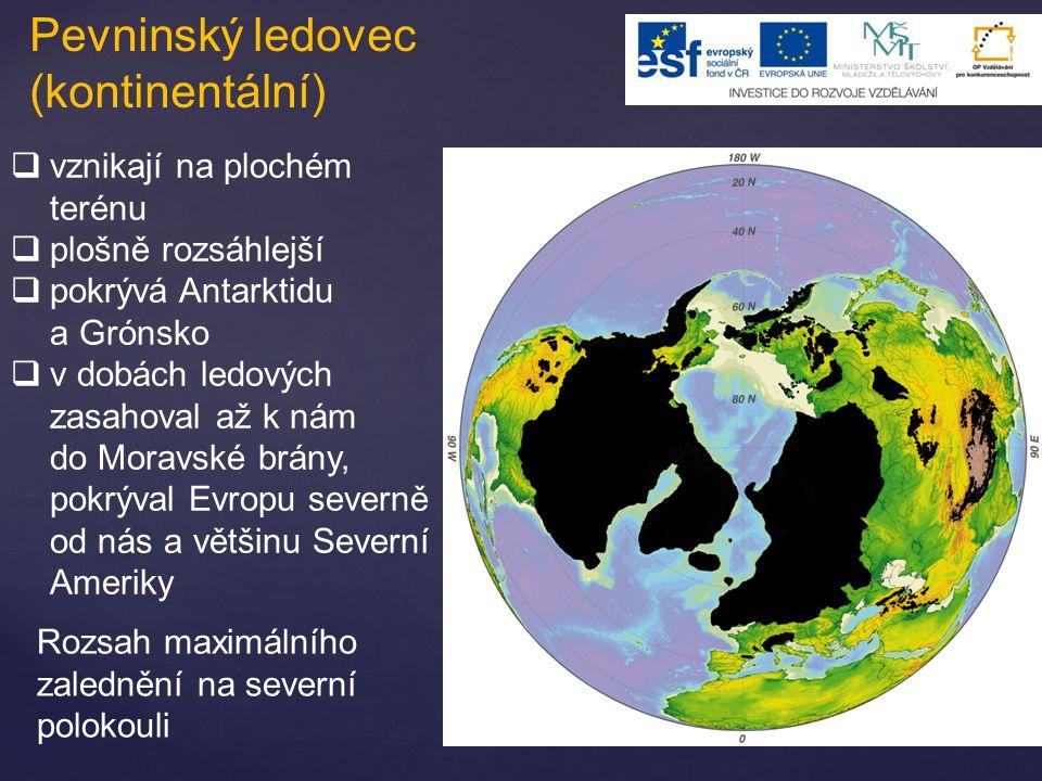 Pevninský ledovec (kontinentální)