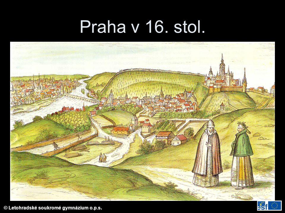 Praha v 16. stol.
