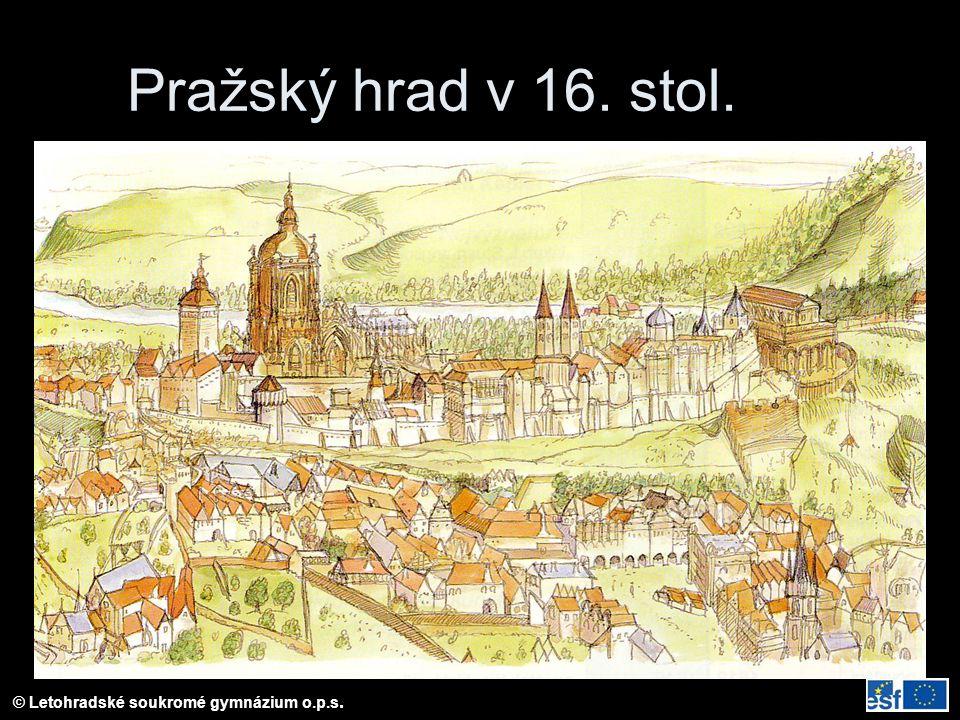 Pražský hrad v 16. stol.