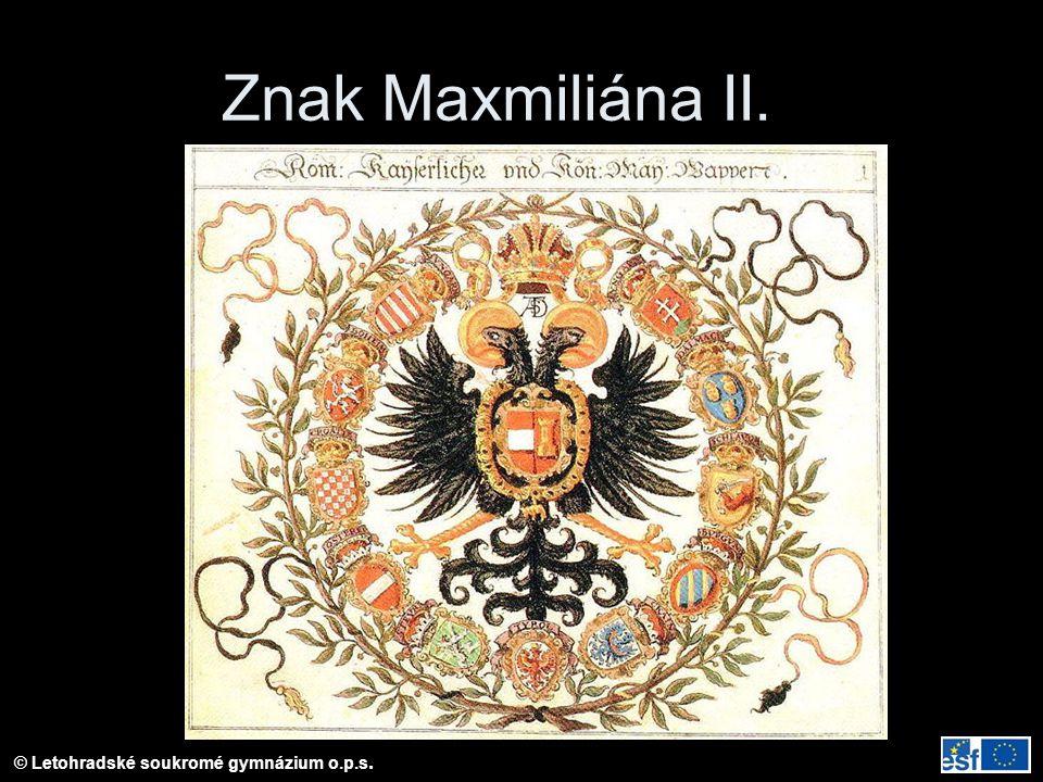 Znak Maxmiliána II.