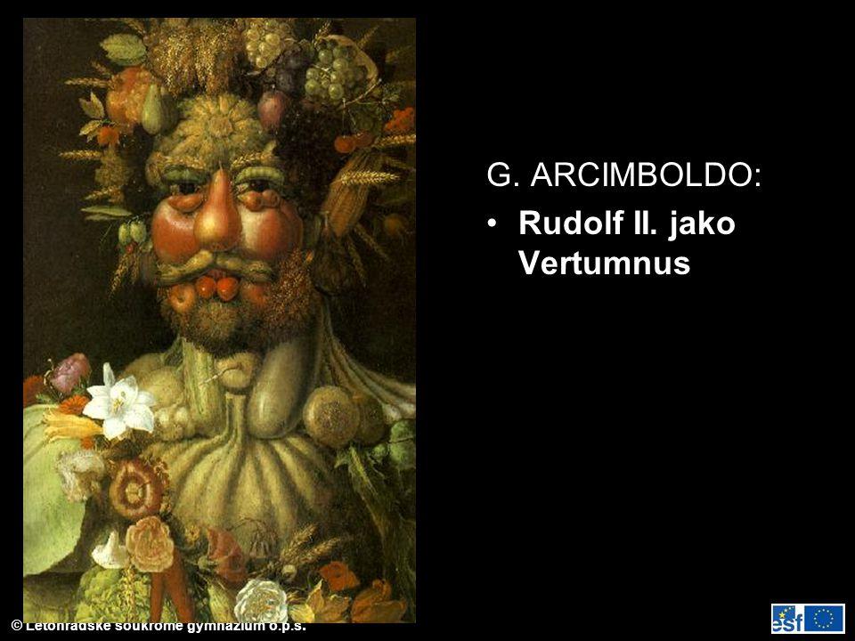 G. ARCIMBOLDO: Rudolf II. jako Vertumnus